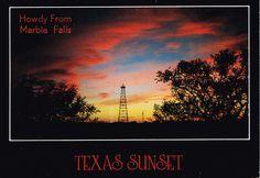 Postcards | Marble Falls, Texas