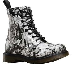 Slime Floral Black and White