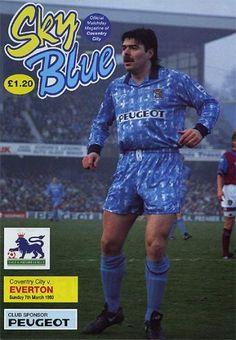 7 March 1993 v Everton Lost 0-1