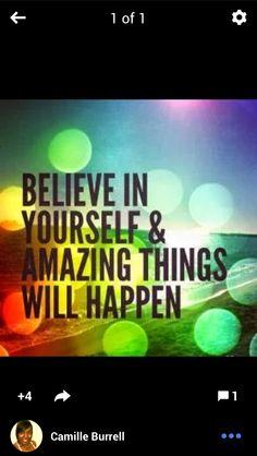 Believe....