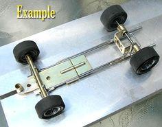 Brass Cutting by Chris Walker - Home Racing World & The Slot Car Garage