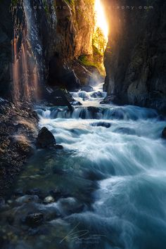 Cascade Avenue - Partnach Gorge, Bavaria by davidrichterphoto on DeviantArt