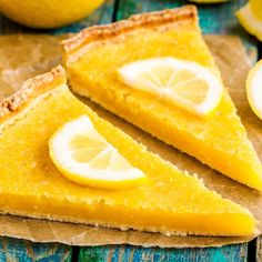 Tarte au citron simplissime et rapide