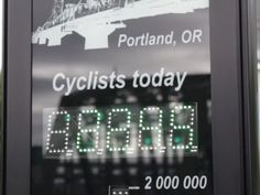 Portland Becomes First City in U.S. with Bike Counter