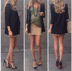 Look de grávida estilosa and maravillhosa! Porque toda grávida pode e deve ser contemplada pela moda.