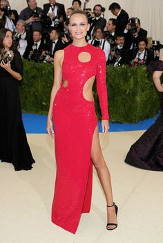 Natasha Poly in Michael Kors - Every Best Dressed Look from the 2017 Met Gala  - Photos