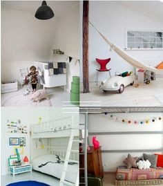 4 Cool Kids Rooms
