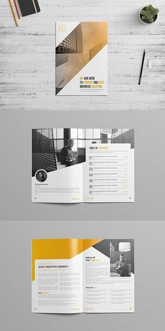 We are a quick and affordable brochure design agency for your Company. Get a stunning Company brochure design. Company Brochure Design, Company Profile Design, Corporate Brochure Design, Booklet Design, Brochure Layout, Business Brochure, Company Profile Template, Corporate Profile, Luxury Brochure