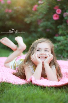 Young girl's pose in a rose garden @Lilac Hill Photography