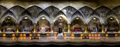 The 2014 Sony World Photography Awards Finalists In Pictures - 'Vakil Bath' © Mohammad Reza Domiri Ganji, Iran Panoramic Photography, World Photography, Photography Awards, Religious Architecture, Architecture Photo, Taj Mahal, Visit Iran, Santa Fe, Beautiful Places