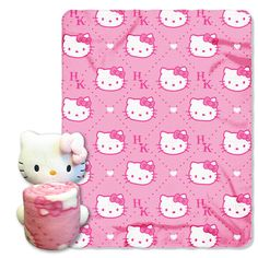 Hello Kitty - Pink HK's with Throw Combo