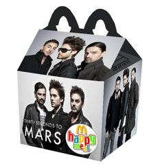 """""""30 Seconds To Mars"""" Happy Meal"""