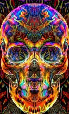 Full drilling DIY Diamond Embroidery skull diamond painting Cross stitch Home Decoration birthday pr Totenkopf Tattoos, Colorful Skulls, Skull Pictures, Skull Artwork, Skull Wallpaper, Sugar Skull Art, Sugar Skulls, Skulls And Roses, Skull Art