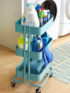 carrito Raskog Ikea - Carrito de la limpieza