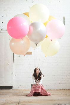 globos de colores #colores #mola #photo #fotografía #pastel