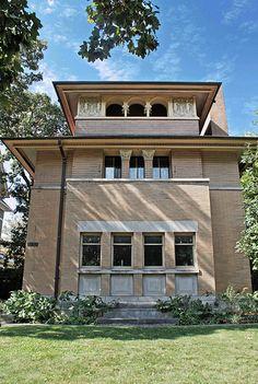 The Heller House - Frank Lloyd Wright