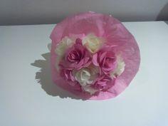 Bouquet de rosas de papel