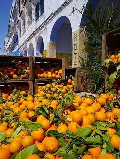 Chefchaouen - market in Bab Souk