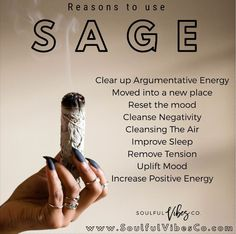 When's the last time you smudged? Here a some quick reasons why it's important to burn White Sage. Visit our site to purchase! Smudging Prayer, Sage Smudging, Spiritual Cleansing, Sage Cleansing Prayer, Sage House Cleansing, Herbal Magic, Smudge Sticks, Book Of Shadows, Copics