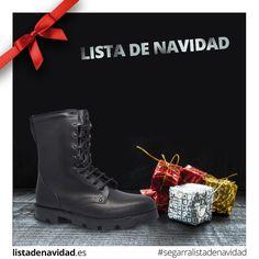 Calzado Militar de Lista de Navidad #calzadossegarra #listadenavidad #navidad #regalos #moda #tendencia #calzadosafari #calzadotendencia #militar #tactico #seguridad #policia #guardiacivil