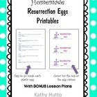 Here's a freebie that I hope you can use for Easter.  Each year, I always make Resurrection Eggs – either with my own children (especially when the...
