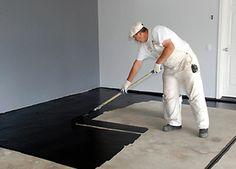 O piso de tinta epoxy que vou adaptar no meu quarto será na cor bege.