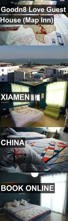 Goodn8 Love Guest House (Map Inn) in Xiamen, China. For more information, photos, reviews and best prices please follow the link. #China #Xiamen #travel #vacation #guesthouse
