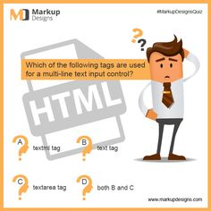 Again come back with a #Quiz? Are you ready to face it?  #MarkupDesigns #MarkupDesignsQuiz #HTMLQuiz
