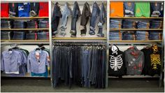Boys Department- Graphic Tees and Denim