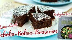 Schoko-Kokos-Brownies Low-Carb