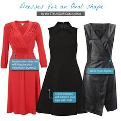 Style Tips: Find the perfect dress for your ‪oval ‎body shape‬