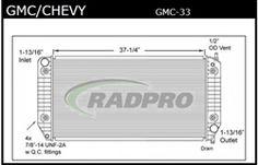 Great Price on this GMC Radiator