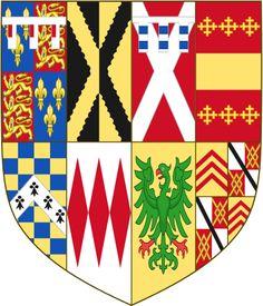 Arms of Reginald Pole.