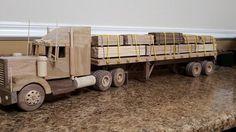 Lumber Load / Flat Bed Trailer