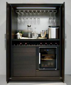 Modern home bar design ideas Diy Home Bar, Modern Home Bar, Mini Bars, Canto Bar, Küchen Design, House Design, Design Ideas, Small Bars For Home, Kitchen Bar Design