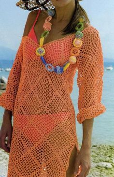 I have this suit...so, I need this cover-up...very cute for Miami