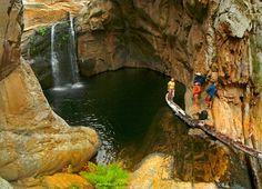 Cedar Falls in Baviaanskloof is where the fun is at!