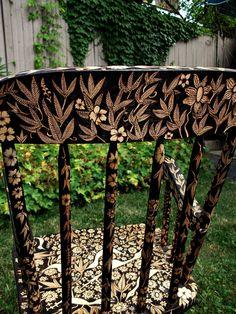 small rocking chair. $2,000.00, via Etsy.