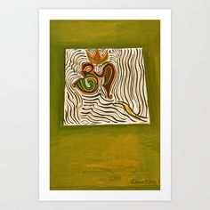 om Art Print by Loosso - $19.76
