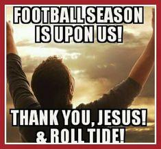 Football Season Is Upon Us Alabama Tennessee, Alabama Baby, Tennessee Volunteers, Alabama Crimson Tide, Crimson Tide Football, Alabama Football, Oklahoma Sooners, American Football, College Football Memes