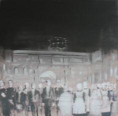 "Saatchi Art Artist János Huszti; Painting, ""Manderly House_2"" #art"