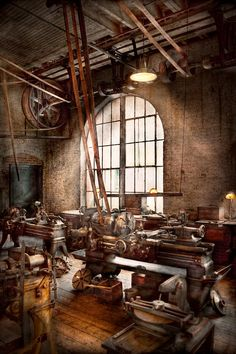 Machinist - I Like Big Tools Photograph - Machinist - I Like Big Tools Fine Art Print