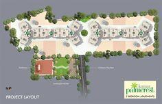 Amazing Layoutplan at kumar plamcrest
