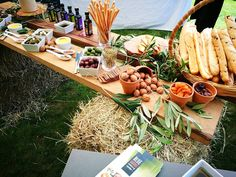 Grazing food stations have been really popular this summer for a wedding.