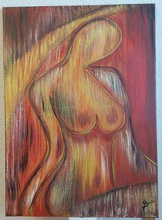 Femeia foc Painting, Art, Art Background, Painting Art, Kunst, Paintings, Performing Arts, Painted Canvas, Drawings