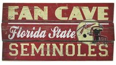 FSU Fan Cave Florida State Seminoles