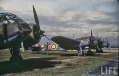 In American photographer Carl Mydans visited Singapore and captured a lot of photos of military. Here's a selection of colour photos of Singapore military in Aircraft Photos, Ww2 Aircraft, Military Aircraft, Bristol Blenheim, Bristol Beaufighter, Visit Singapore, Ww2 Planes, Vintage Airplanes, Battle Of Britain