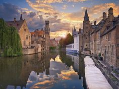 Bruges, Belgium | 17 Underrated Honeymoon Destinations You'll Want To Stay At Forever