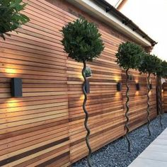 HeartStopping DIY Living Fence Art Ideas is part of Modern landscaping - HeartStopping DIY Living Fence Art Ideas Outdoor Garden Decor, Outdoor Gardens, Modern Gardens, Small Gardens, Living Fence, Fence Art, Diy Fence, Horse Fence, Modern Garden Design