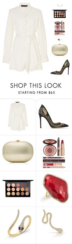 """""""Sin título #4996"""" by mdmsb ❤ liked on Polyvore featuring Martin Grant, Gianvito Rossi, Charlotte Tilbury, MAC Cosmetics and Anne Sisteron"""